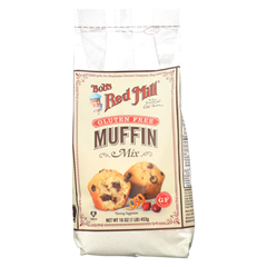 HGR01738475 - Bob's Red MillGluten Free Muffin Mix - 16 oz. - Case of 4