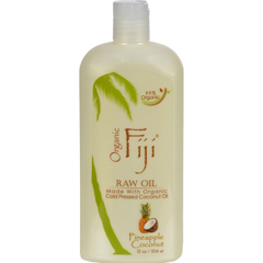 HGR0174342 - Organic Fiji - Virgin Coconut Oil Pineapple - 12 fl oz