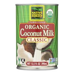 HGR0177113 - Native Forest - Organic Classic - Coconut Milk - Case of 12 - 13.5 Fl oz..