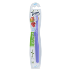 HGR01776905 - Tom's Of MaineChildrens Toothbrush - Dye-Free - Case of 6 - 1 Count