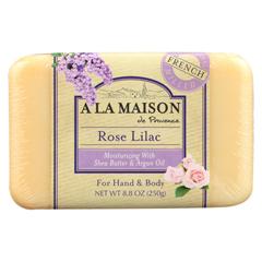 HGR01781400 - A La MaisonBar Soap - Rose Lilac - 8.8 oz.
