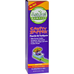HGR0178780 - Natural DentistKids Cavity Zapper Toothpaste Buster Groovy Grape - 5 oz