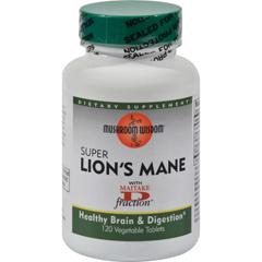 HGR0179085 - Mushroom WisdomSuper Lions Mane - 120 Vegetable Tablets