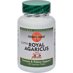 HGR0179119 - Mushroom WisdomRoyal Agaricus - 120 Caplets