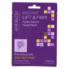 HGR01800473 - Andalou NaturalsInstant Lift & Firm Facial Mask - Age Defying - Case of 6 - 0.6 fl oz.