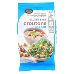 HGR01809847 - Natural NectarCroutons - Gluten Free - Sea Salt - Case of 8 - 2.6 oz.