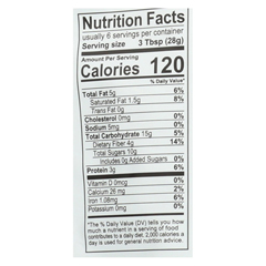 HGR01829746 - Essential Living Foods - Machu Picchu Mix - Cacoa, Mulberry and Goji - Case of 6 - 6 oz.