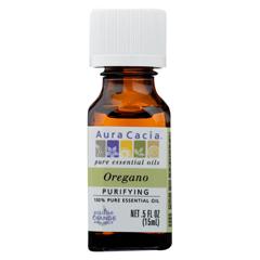 HGR01830686 - Aura Cacia - Essential Oil - Oregano - 0.5 FL oz.