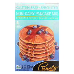 HGR01836196 - Pamela's ProductsSprouted Pancake Mix - Case of 6 - 12 oz.