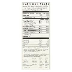 HGR01836295 - Pamela's ProductsGrain Pancake Mix - Buttermilk - Case of 6 - 12 oz.