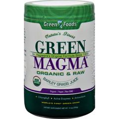 HGR0183954 - Green FoodsDr Hagiwara Green Magma Barley Grass Juice Powder - 10.6 oz