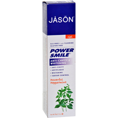HGR0184390 - Jason Natural ProductsPowerSmile All Natural Whitening CoQ10 Tooth Gel - 6 oz