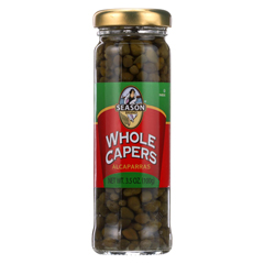 HGR0186528 - Season Brand - Capers - Whole - Non Pariels - 3.5 oz.. - case of 6