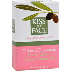 HGR0186643 - Kiss My FaceBar Soap Olive and Chamomile - 8 oz