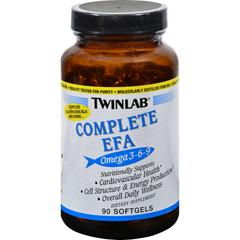 HGR0189498 - TwinlabComplete EFA - 90 Softgels