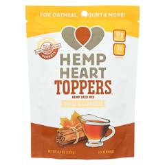 HGR01896117 - Manitoba HarvestHemp Heart Toppers - Maple & Cinnamon - Case of 12 - 4.4 oz.