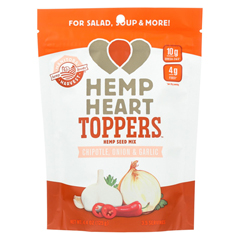 HGR01896141 - Manitoba HarvestHemp Heart Toppers - Chipotle - Onion & Garlic - Case of 12 - 4.4 oz.