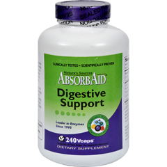 HGR0189696 - AbsorbaidAbsorbAid Digestive Support - 240 Vcaps