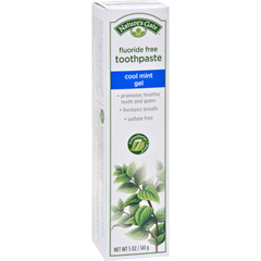 HGR0190264 - Nature's GateNatural Toothpaste Gel Flouride Free Cool Mint - 5 oz - Case of 6