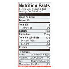 HGR01909985 - Happy Baby - Organic Stage 2 Baby Food - Carrots Strawberries & Chickpeas - Case of 16 - 4 oz.