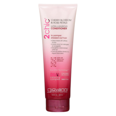 HGR01910421 - Giovanni Hair Care Products2Chic - Conditioner - Cherry Blossom and Rose Petals - 8.5 fl oz.