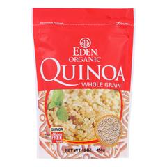HGR0192229 - Eden Foods100% Organic Imported andean Quinoa - Case of 12 - 16 oz