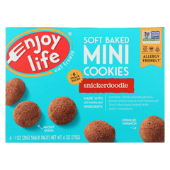 HGR01960566 - Enjoy Life - Soft Baked Minis Cookies - Snickerdoodle - Case of 6 - 6 oz.