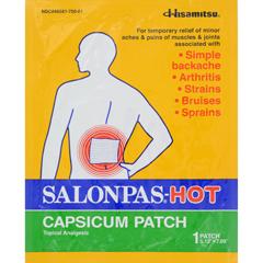 HGR0197004 - SalonpasCapsicum Patch - Hot - Pack