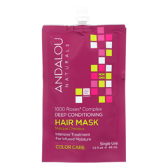 HGR01988690 - Andalou NaturalsColor Care Deep Conditioning Hair Mask -1000 Roses Complex - Case of 6 - 1.5 fl oz.