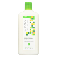 HGR01988724 - Andalou Naturals - Silky Smooth Conditioner -Exotic Marula Oil - 11.5 fl oz.