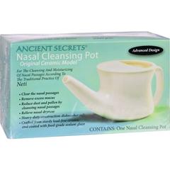 HGR0201772 - Ancient SecretsNasal Cleansing Pot - 1 Pot