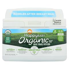 HGR02021137 - Happy Baby - Organic Infant Milk Based Formula Powder - with Iron - Case of 4 - 21 oz.