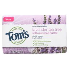 HGR02033785 - Tom's Of MaineBeauty Bar Soap - Lavender Tea Tree - Case of 6 - 5 oz.