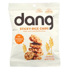 HGR02038552 - Dang - Rice Chips - Original Recipe - Case of 24 - .7 oz.