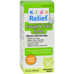 HGR0203869 - Homeolab USAKids Relief Cough and Cold For Kids 2+ Fruit - 3.4 fl oz