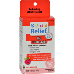 HGR0203976 - Homeolab USAKids Relief Flu For Kids 2-Plus Raspberry - 0.85 fl oz