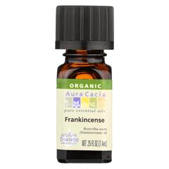 HGR02043081 - Aura Cacia - Essential Oil - Organic - Frankincense - .25 fl oz.