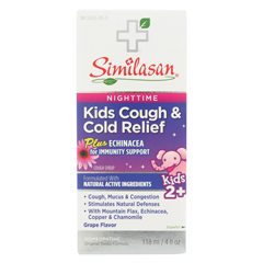 HGR02063204 - Similasan - Kids Cold Syrup - Fever Relief - 4 fl oz.