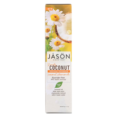 HGR02069409 - Jason Natural ProductsSoothing Toothpaste - Coconut Chamomile - 4.2 oz.