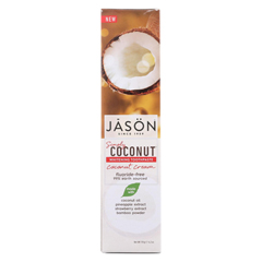 HGR02069417 - Jason Natural ProductsWhitening Toothpaste - Coconut Cream - 4.2 oz.