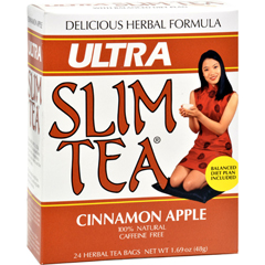 HGR0208280 - Hobe LabsUltra Slim Tea Cinnamon Apple - 24 Tea Bags