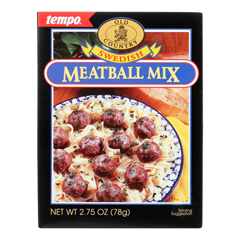 HGR0209205 - Tempo - Old Country Meatball Mix - Swedish - 2.75 oz.. - Case of 12