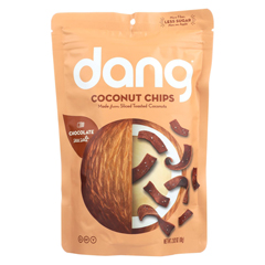 HGR02107266 - DangToasted Coconut Chips - Salted Cacao - Case of 12 - 2.82 oz.