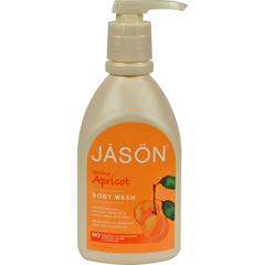 HGR0211581 - Jason Natural ProductsSatin Shower Body Wash Apricot - 30 fl oz