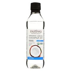 HGR02118628 - Nutiva - Oil - Organic - Liquid Coconut - Case of 6 - 16 fl oz.