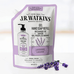 HGR02137818 - J.R. Watkins - Hand Soap Refill Lavender - Case of 1 - 34 fl oz.