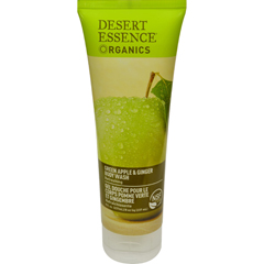 HGR0214353 - Desert EssenceBody Wash Green Apple and Ginger - 8 fl oz