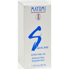 HGR0215038 - Mayumi Squalene - Mayumi Squalane Ultra Fine Oil - 1.12 fl oz