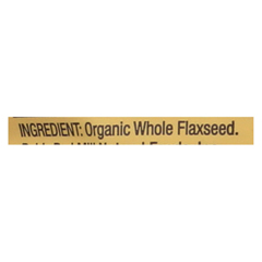 HGR02153146 - Bob's Red MillOrganic Flaxseed Meal - Brown - Case of 4 - 32 oz.