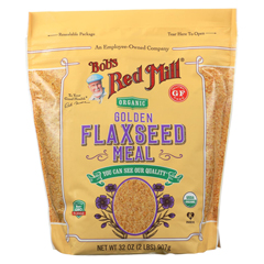 HGR02153153 - Bob's Red MillOrganic Flaxseed Meal - Golden - Case of 4 - 32 oz.
